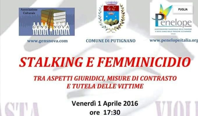 Stalking e femminicidio